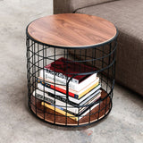 Gus* Wireframe End Table - armchairmuse.com - 1
