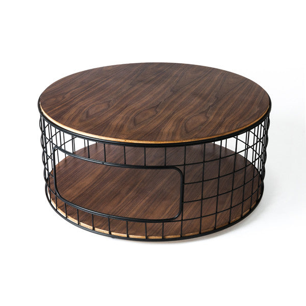 Gus* Wireframe Coffee Table - armchairmuse.com - 1