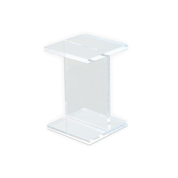 Gus* Acrylic I-Beam Table - armchairmuse.com - 1