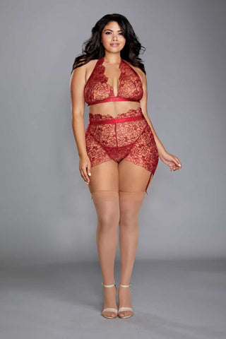 Plus Size Ruby Bra Set
