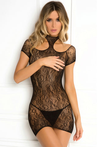 Cold Shoulder Body Stocking