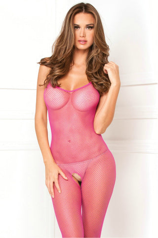 Red Lace Body Stocking