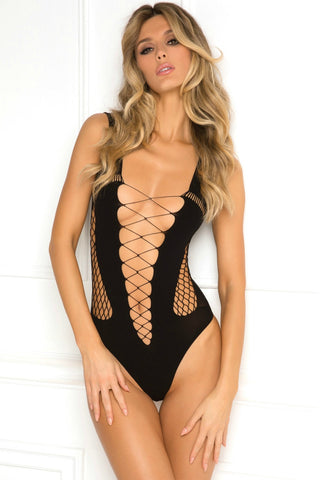 Crochet Net Body Stocking