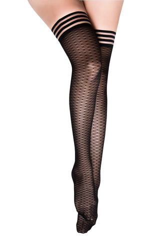 Kix'ies Honeycomb Thigh Highs