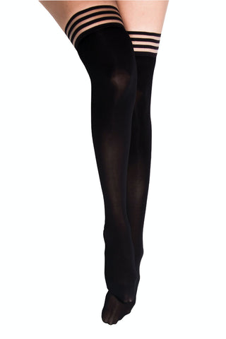 Kix'ies Opaque Thigh Highs