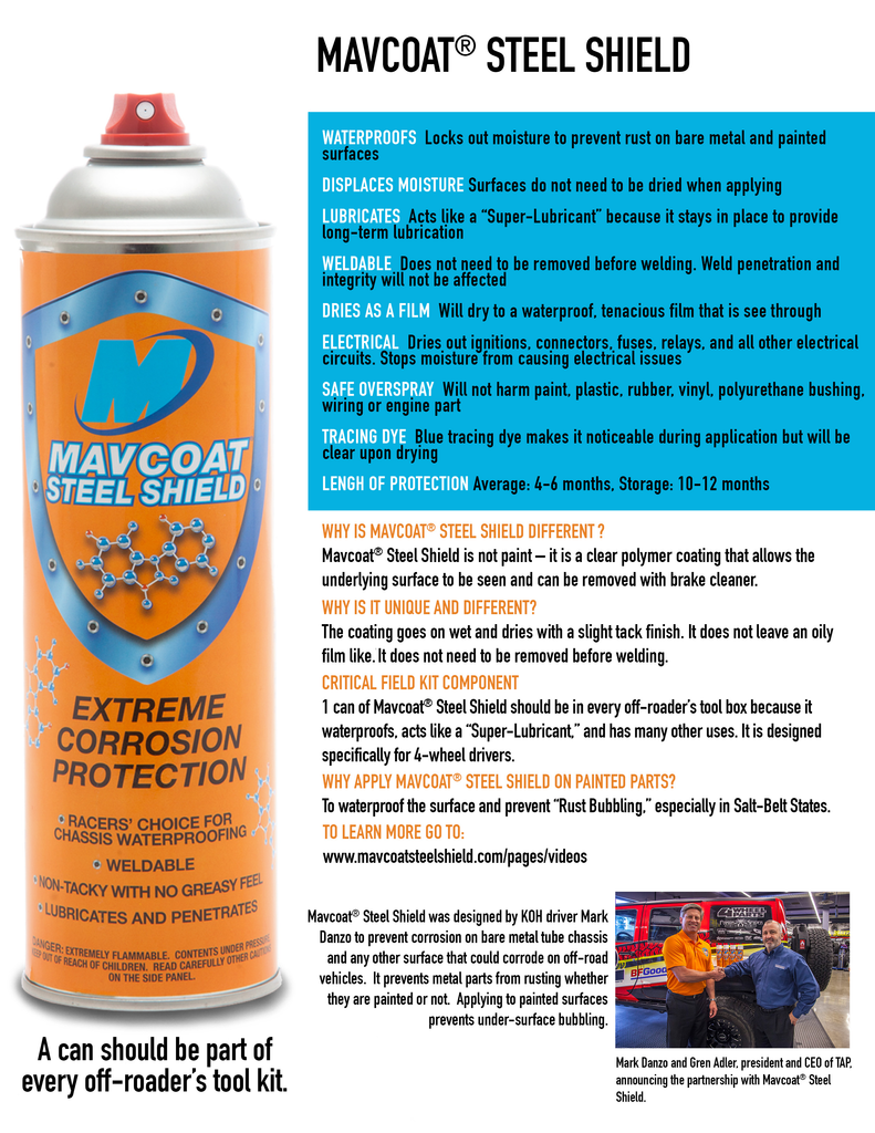 Mavcoat® Total Protection Pack - (1 Gallon + 12 Cans)