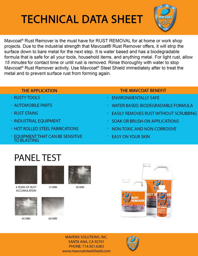 Mavcoat® Rust Remover (8 fl.oz.)