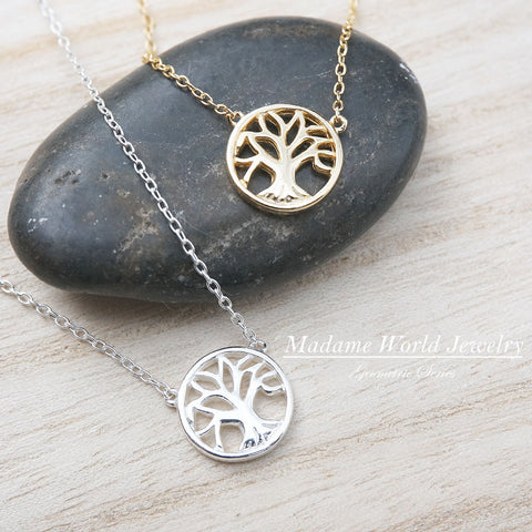 Plain Tree of Life Necklace