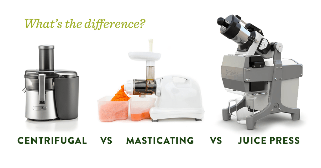 Centrifugal vs Masticating vs Cold Press Juicers - Home Juice