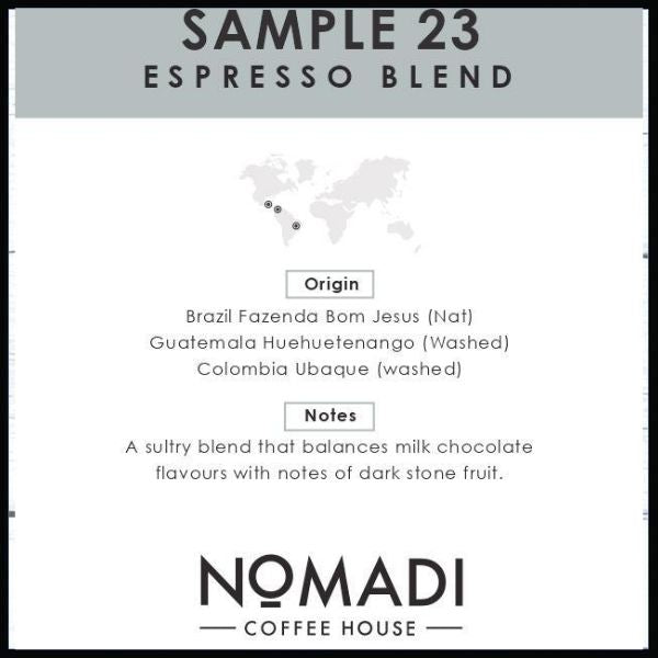 SAMPLE 23 • Espresso Blend Coffee Beans