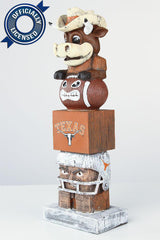 Officially Licensed Texas Longhorns Tiki Totem
