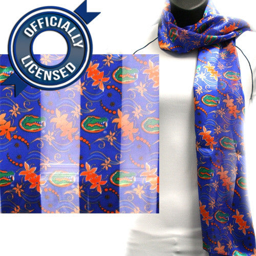 Officially Licensed Florida Flower Scarf