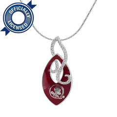 Officially Licensed Florida State Crystal Nala Necklace