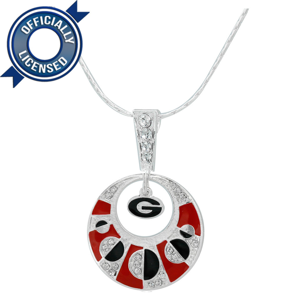 Officially Licensed Georgia Moon Necklace