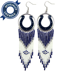 Officially Licensed Indianapolis Colts Dreamcatcher Earring