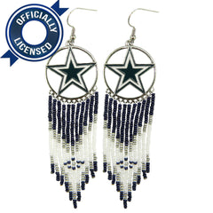 Officially Licensed Dallas Cowboys Dreamcatcher Earring