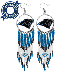 Officially Licensed Carolina Panthers Dreamcatcher Earring