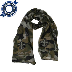 Special Edition New Orleans Saints Camo Scarf