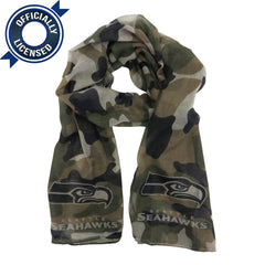 Special Edition Seattle Seahawks Camo Scarf