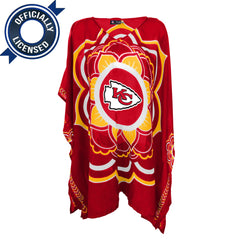 Limited Edition, Officially Licensed Kansas City Chiefs Caftan