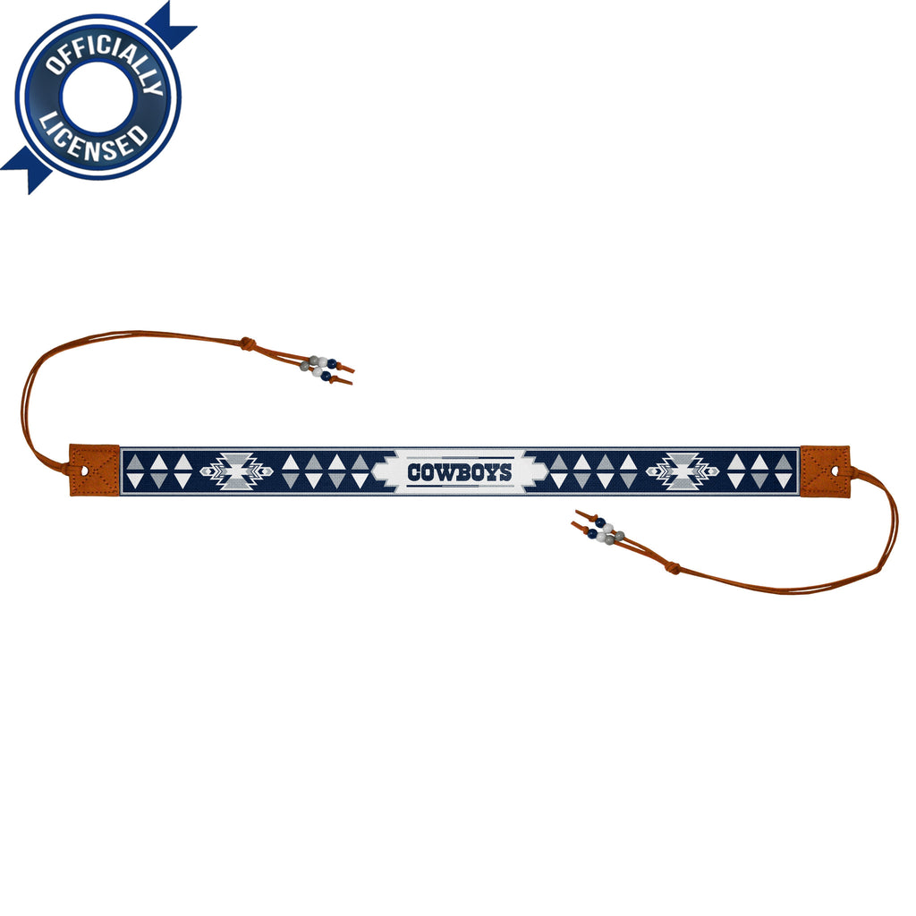 Limited Edition, Officially Licensed Dallas Cowboys Beaded Headwrap
