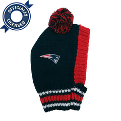 Officially Licensed New England Patriots Pet Knit Hat