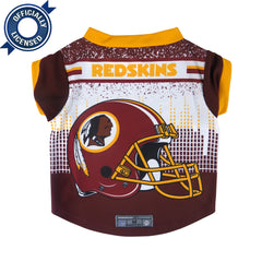 Officially Licensed Washington Redskins Pet Performance Tee Shirt