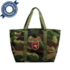 Officially Licensed Tampa Bay Buccaneers Camo Tote