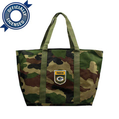 Officially Licensed Green Bay Packers Camo Tote