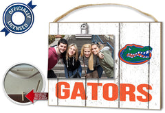 Officially Licensed Florida Gators Weathered Logo Photo Frame