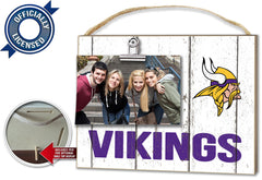 Officially Licensed Minnesota Vikings Weathered Logo Photo Frame