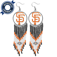 Officially Licensed San Francisco Giants Dreamcatcher Earring
