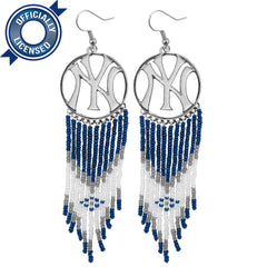 Officially Licensed New York Yankees Dreamcatcher Earring
