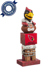 Officially Licensed Arizona Cardinals Tiki Totem