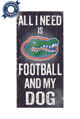 Officially Licensed Florida Gators Dog Sign