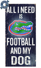 Officially Licensed Florida Football and Dog Sign