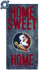 Officially Licensed Florida State Football Home Sweet Home Sign
