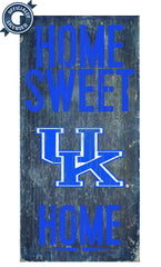 Officially Licensed Kentucky Football Home Sweet Home Sign