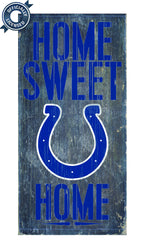 Officially Licensed Indianapolis Football Home Sweet Home Sign