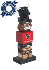 Officially Licensed Houston Texans Tiki Totem