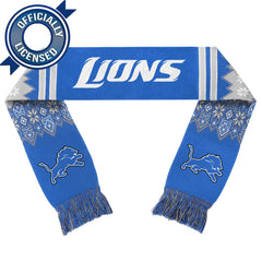 Officially Licensed Detroit Lions Lodge Scarf