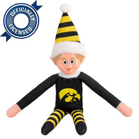 Limited Edition Iowa Hawkeyes Plush Elf