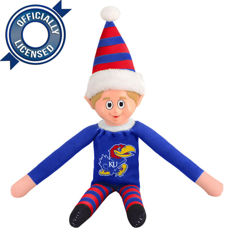 Limited Edition Kansas Jayhawks Plush Elf
