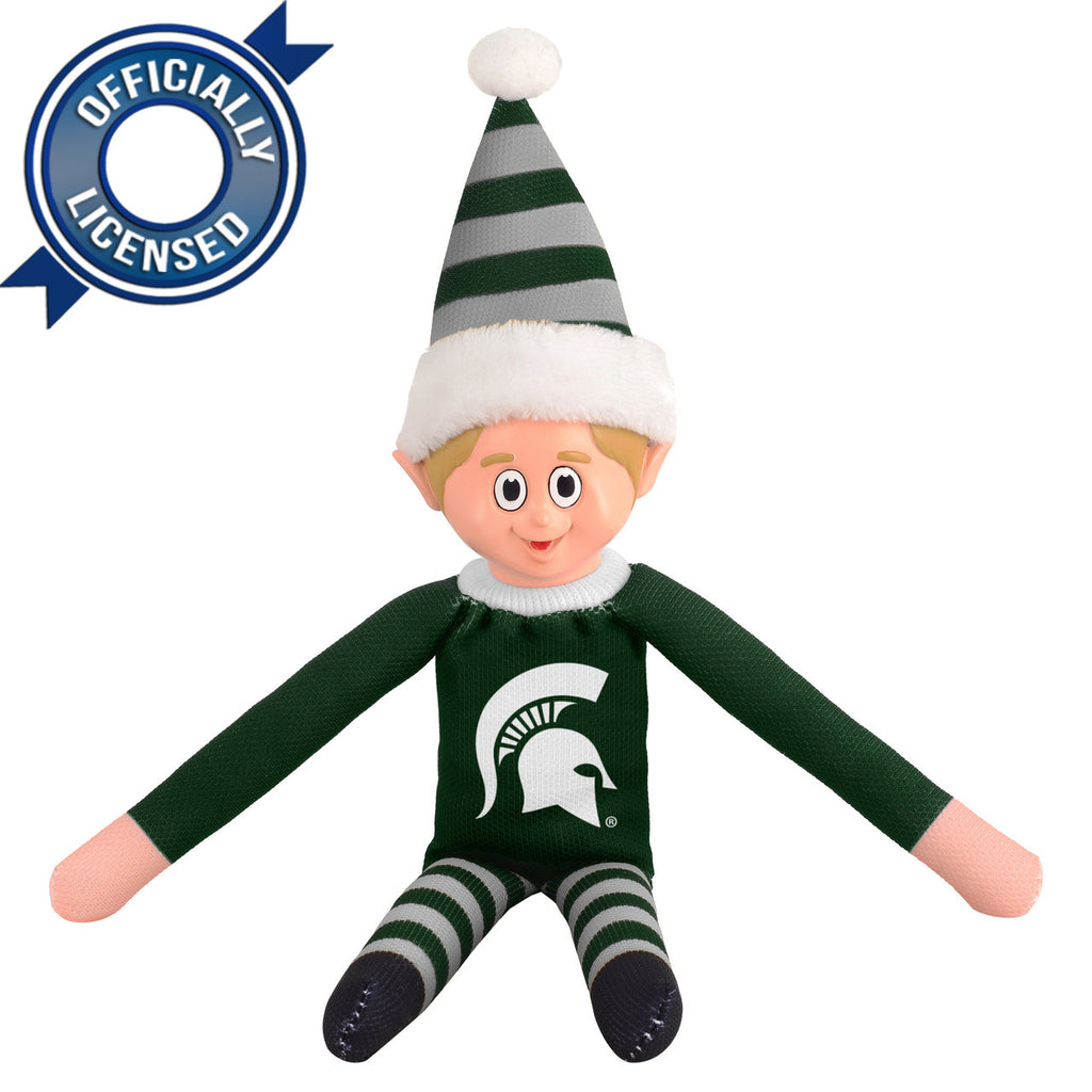 Limited Edition Michigan State Spartans Plush Elf