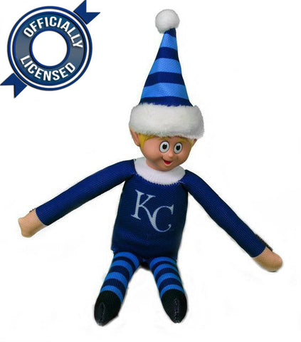 Limited Edition Kansas City Royals Plush Elf