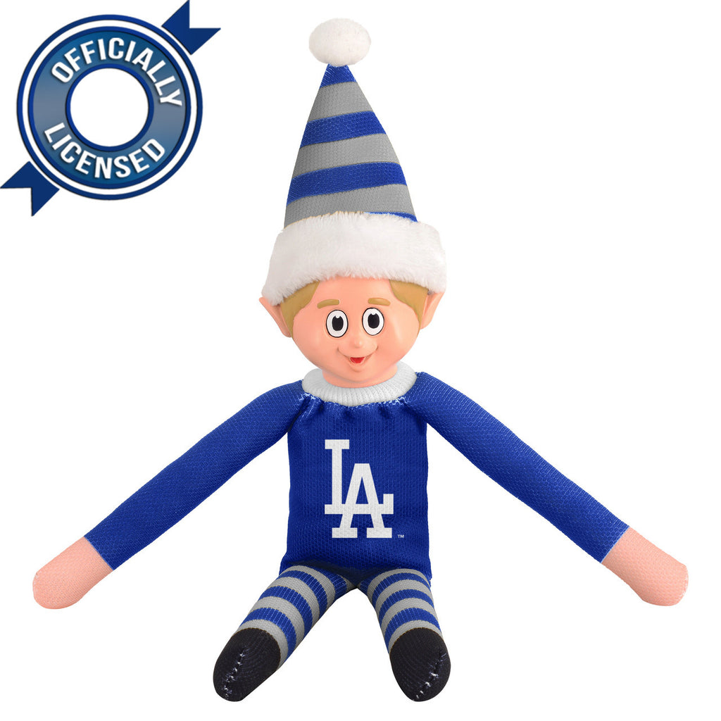 Limited Edition Los Angeles Dodgers Plush Elf