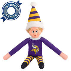 Limited Edition Minnesota Vikings Plush Elf