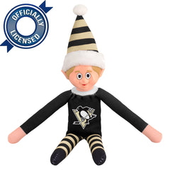 Limited Edition Pittsburgh Penguins Plush Elf
