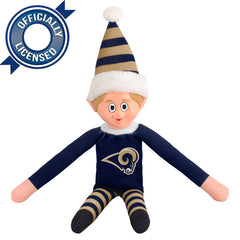 Limited Edition Los Angeles Rams Plush Elf