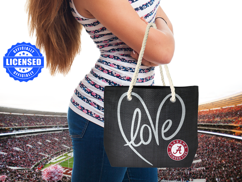 Just Released!  Officially Licensed Alabama Rope Tote